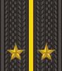 Wie ein Leutnant