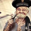 Jolly oldster marinero