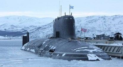"""Russische U-Boote im Nordatlantik wurden zu """"Kopfschmerzen"""" der NATO"""