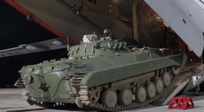 Bir grup modernize edilmiş BMP-2M, Tacikistan'daki 201. askeri üsle hizmete girdi