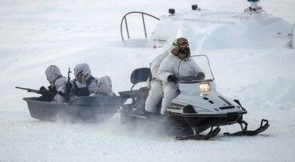 Moscou está preparando forças especiais para o Ártico