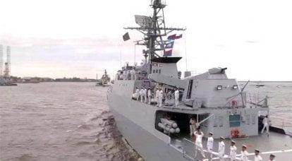 「おそらく、彼らはロシアでの長期的な修理のために立ち上がるだろう」:海外では、イラン海軍の船サハンドとマクランがサンクトペテルブルクからどこに行くことができるかを考えています