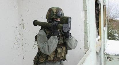 """El ejército bielorruso probó un lanzagranadas ligero """"Zafiro"""""""