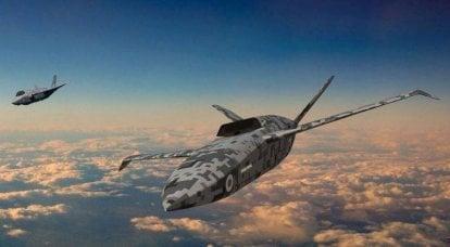 A Grã-Bretanha testará um ala não tripulado autodesenvolvido