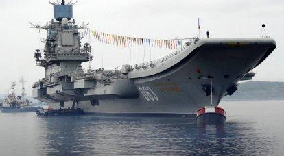 ロシア艦隊の主な攻撃力としての航空