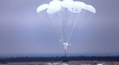 Vielversprechende Fallschirmsysteme für die russischen Luftstreitkräfte