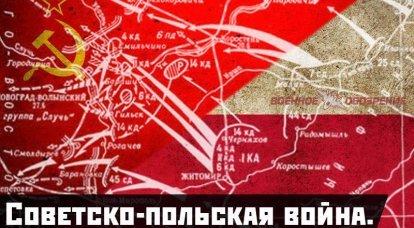सोवियत-पोलिश युद्ध। नोवोग्राद-वोलेन ऑपरेशन 1920,