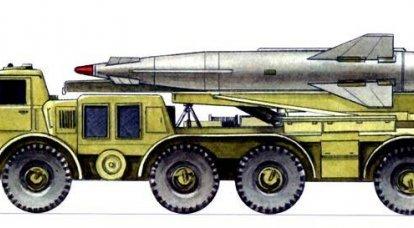 """Rascunho complexo de mísseis táticos """"Tochka"""""""