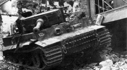 坦克。 惠特曼主坦克战