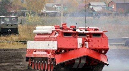 """ओम्स्क में """"फायर टैंक"""" का उत्पादन फिर से शुरू"""