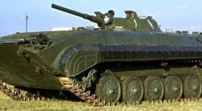 """Dalla base a """"Basurmanin"""". Problemi di ammodernamento del BMP-1"""