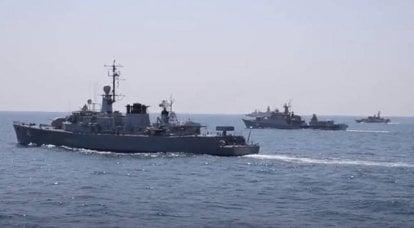 北约海战波塞冬21号在黑海开始