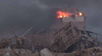 ベイルート爆撃による死者数が増加