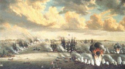 Rochensalmの第XNUMXの戦いでのロシア艦隊の敗北