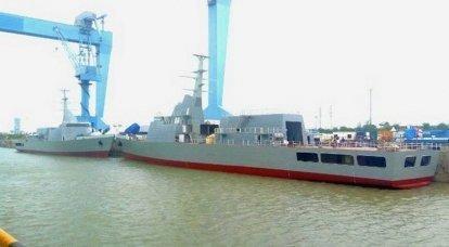 USCはインド最大の造船所を買収する意向