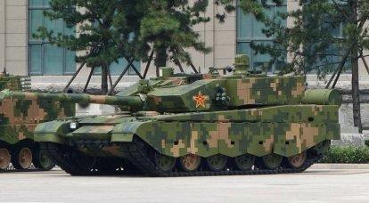 Des photos de la disposition du char chinois Type 99A aux États-Unis sont discutées sur le réseau