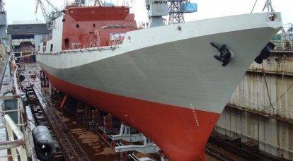Trouble de mars Une nouvelle frégate est lancée en Russie et un porte-avions est en construction en Iran