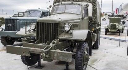 另一个借贷租赁。 陆军卡车国际M-5H-6