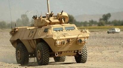 Les États-Unis fournissent à l'armée du Kosovo un lot de véhicules blindés M-1117 ASV 4x4