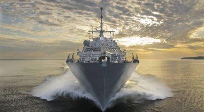 यूनिवर्सल TLU Mk 41 के साथ Littoral LCS युद्धपोत: अमेरिकी नौसेना से खतरों का विन्यास जटिल है