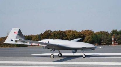Moderne UAVs türkischen Designs