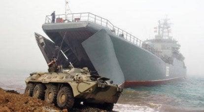 """海军陆战队参加"""" East 2010""""演习"""