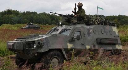 """""""我们希望现在他们放弃悍马:乌克兰宣布美国购买一辆Dozor-B装甲车"""