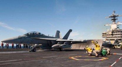 Novo equipamento EW para aeronaves EA-18G Growler está sendo testado nos EUA
