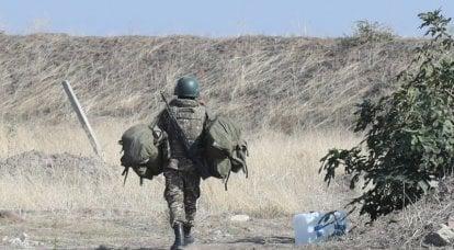 Ministero della difesa azero: i militari portati in Karabakh dall'Armenia si rifiutano di combattere