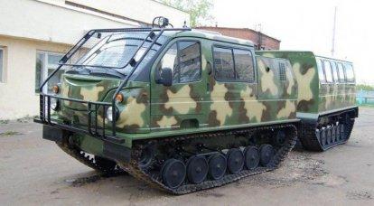 双连杆雪和沼泽车GAZ-3344