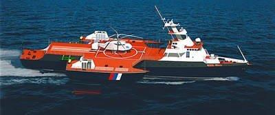 海賊と戦うための革新的な船