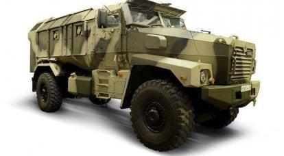 """在Nizhny Tagil,""""乌拉尔""""展出了新的装甲车"""