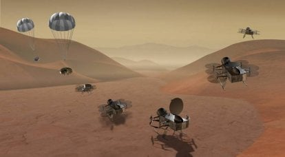 "NASA is going to send a nuclear helicopter to Titan and ride the ""Soviet"" comet"