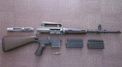 武器制造商。 从AR-10到AR-15等