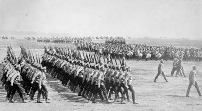 100多年的俄罗斯荣耀。 关于俄罗斯步兵