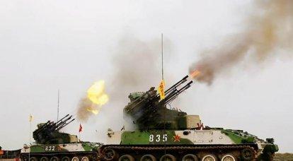 現代の中国の対空砲