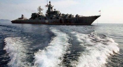 警備ミサイル巡洋艦「Varyag」