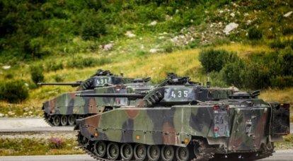체코 군은 푸마 BMP를 선호하며 T-72 탱크를 대신 할 곳을 찾고 있습니다.