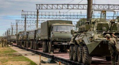O último escalão com os militares e equipamentos russos deixou o território da Bielorrússia