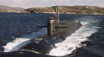 Stanovoy Ridge NSNF: croiseurs sous-marins lance-missiles stratégiques (SNLE) du projet 667