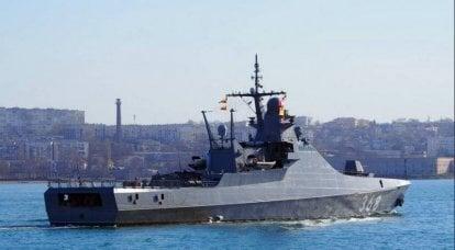 """克尔维特""""瓦西里·拜科夫""""到达北方舰队测试武器"""