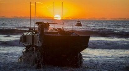 モビリティの名の下に。 ホイール装甲兵員輸送車-水陸両用ACV