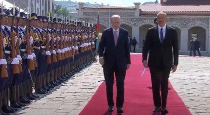 Erdogan arriva in Karabakh dopo il vertice Nato