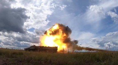 बेलारूस में, उन्होंने आधुनिक 9M114MB एंटी-टैंक मिसाइल का परीक्षण किया
