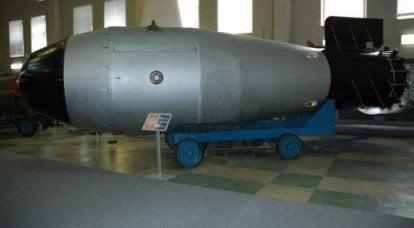 世紀の武器です。 爆弾
