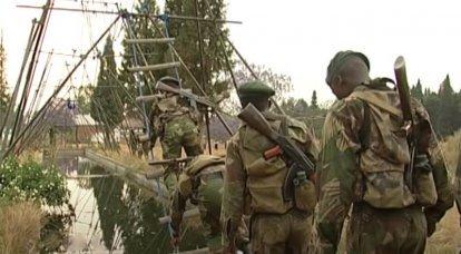 Avec une saveur locale: la formation des forces spéciales du Zimbabwe