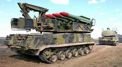 बूक-एम 2 एंटी एयरक्राफ्ट मिसाइल सिस्टम। इन्फ़ोग्राफ़िक्स