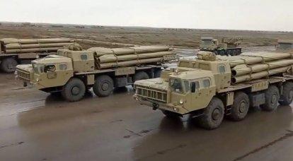 Kendi askeri teçhizatı ve ele geçirildi: Karabağ'daki zafere adanmış Bakü'deki askeri geçit töreninin provası gösteriliyor