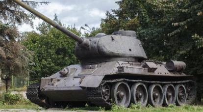 관측 및 사격 통제 장치 T-34-76의 진화에