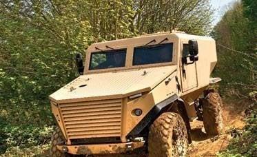 Minefield Leopard: veicoli blindati di nuova generazione
